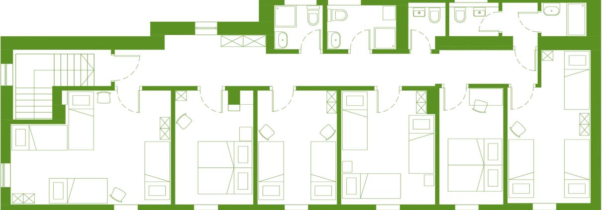Hostel Vrba - First floor